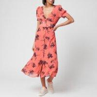 MICHAEL MICHAEL KORS Women's Petal Pf Midi Dress - Coral Peach - M