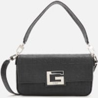 Guess Womens Brightside Shoulder Bag - Black
