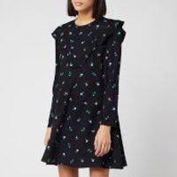 Philosophy di Lorenzo Serafini Women's Floral Mini Dress - Black - IT 40/UK 8