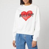 Philosophy di Lorenzo Serafini Women's Bullshit Sweatshirt - White/Red - L