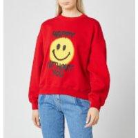 Philosophy di Lorenzo Serafini Women's Happy Without You Sweatshirt - Red - M