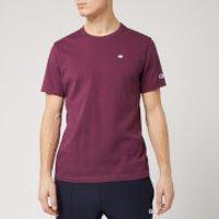 Champion Men's Logo Crew Neck T-Shirt - Burgundy - S