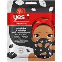 yes to Tomatoes Detoxifying and Remineralizing Yin & Yang Charcoal Paper Mask 20ml