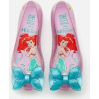 Mini Melissa Kids' Disney The Little Mermaid Ultragirl Ballet Flats - Purple/Aqua - UK 2 Kids