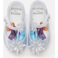 Mini Melissa Toddlers' Disney Frozen Ultragirl Flats - Iridescent Ice Flower - UK 5 Toddler