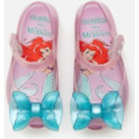 Mini Melissa Toddlers' Disney The Little Mermaid Ultragirl Flats - Purple/Aqua - UK 5 Toddler