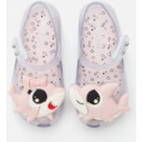 Mini Melissa Toddlers' Ultragirl Baby Shark Flats - Clear - UK 9 Toddler