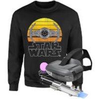 Star Wars AR and Sweatshirt Bundle - Men's - 4XL - Black