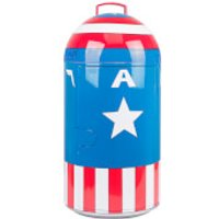 Marvel Captain America 14L Mini Fridge - US Plug - Marvel Gifts