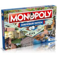 Monopoly Board Game - Shrewsbury Edition - Board Game Gifts