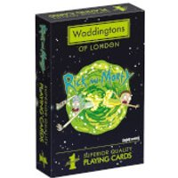Waddingtons Number 1 Playing Cards - Rick and Morty Edition - Playing Cards Gifts