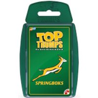 Top Trumps Card Game - Springbok Edition