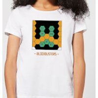 Blockbusters Stuck In The 80's Women's T-Shirt - White - XXL - White - 80s Gifts