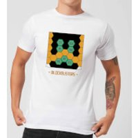 Blockbusters Stuck In The 80's Men's T-Shirt - White - XXL - White - 80s Gifts