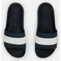 Lacoste Men's Croco Slide 120 Slide Sandals - Navy/White - UK 10