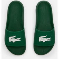Lacoste Lacoste Men's Croco 119 Slide Sandals - Green/White - UK 10