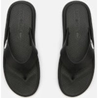 Lacoste Lacoste Men's Croco 219 Toe Post Sandals - Black/White - UK 11