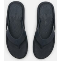 Lacoste Men's Croco 219 Toe Post Sandals - Navy/White - UK 10