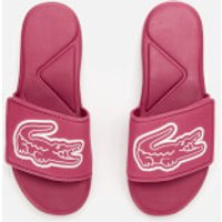 Lacoste Lacoste Kids' L.30 Strap 120 Slide Sandals - Dark Pink/White - UK 12 Kids