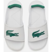 Lacoste Lacoste Toddler's L.30 Strap 120 Slide Sandals - White/Green - UK 8 Toddler