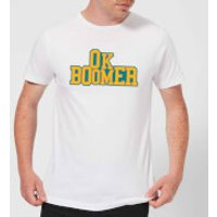 Ok Boomer College Men's T-Shirt - White - XL - White - College Gifts