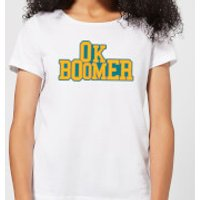 Ok Boomer College Women's T-Shirt - White - XL - White - College Gifts