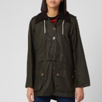 Barbour Womens Alexa Chung Coco Wax Jacket - Archive Olive -