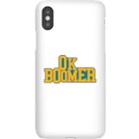 Ok Boomer College Phone Case for iPhone and Android - Samsung Note 8 - Snap Case - Matte - College Gifts