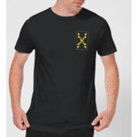 Family Fortunes Wrong Answer Pocket Print Men's T-Shirt - Black - XXL - Black