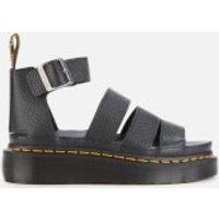 Dr. Martens Women's Clarissa II Quad Leather Sandals - Black - UK 3