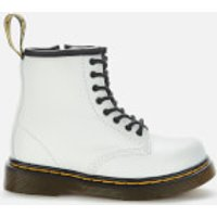 Dr. Martens Toddlers 1460 T Lace Up Boots - White Rosario - UK 7 Toddler
