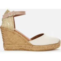 Kurt Geiger London Kurt Geiger London Women's Monty Wedged Sandals - Bone - UK 8