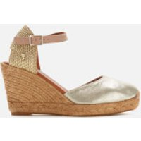 Kurt Geiger London Women's Monty Wedged Sandals - Gold Comb - UK 5