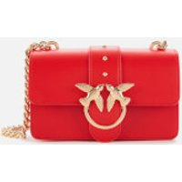 shop for Pinko Women's Mini Love Shoulder Bag - Red at Shopo