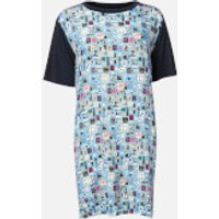 PS Paul Smith Women's Stamp Dress - Blue - M