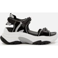 Ash Women's Adapt Chunky Sandals - Black/Silver - UK 7