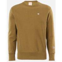 Champion Men's Basic Crewneck Sweatshirt - Khaki - S