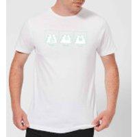 Pusheen Yum Repeat Men's T-Shirt - White - XXL - White