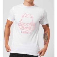 Pusheen Purrfect Junk Food Men's T-Shirt - White - XL - White