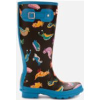 Hunter Hunter Kids' Original Sea Monster Wellies - Blue Bottle - UK 3 Kids