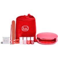 Le Mini Macaron Le Maxi  Rouge & Moi  - Limited Edition Deluxe Gel Manicure Set
