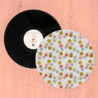 Funky Polka Dots Turntable Slip Mat - Funky Gifts