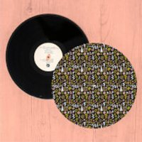 Crazy Funky Pattern Turntable Slip Mat - Funky Gifts