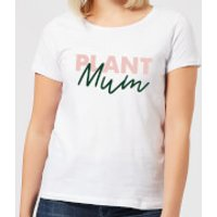 Plant Mum Script Women's T-Shirt - White - L - White