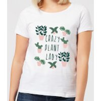 Crazy Plant Lady Women's T-Shirt - White - XXL - White