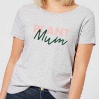 Plant Mum Script Women's T-Shirt - Grey - XXL - Grey
