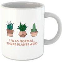 I Was Normal Three Plants Ago Illustration Mug - Plants Gifts