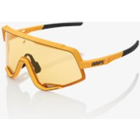 100% Glendale Sunglasses - Soft Tact Mustard/Yellow Lens