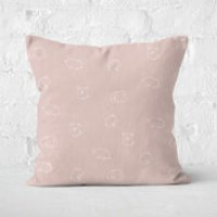 Pigs Square Cushion - 50x50cm - Soft Touch