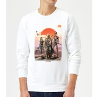 The Mandalorian Warriors Sweatshirt - White - M - White